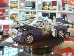 Kyosho 1:18 Rolls Royce Phantom Drophead Coupe