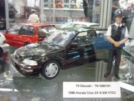 Honda Civic EF-9 SiR VTEC 1990 1:18 Triple9 Collection