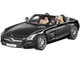 Mercedes Benz SLS AMG Roadster black 1:18 Norev