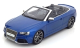 Audi RS5 Cabrio blue 1:18 GT Spirit