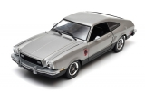 Ford Mustang II Stallion 1976 silver 1:18 Greenlight