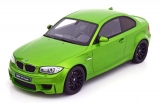 BMW 1M Coupe E82 green 1:18 GT Spirit