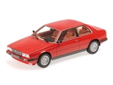 Maserati Biturbo Coupe 1982 red 1:18 Minichamps