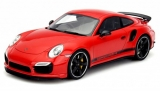 Porsche 911 Turbo S Coupé (991) GB Edition RHD 40 years red 1:18 GT Spirit