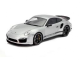 Porsche 911 Turbo S Coupé (991) GB Edition RHD 40 years grey 1:18 GT Spirit
