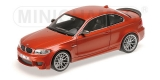 BMW 1 M Coupe 2011 orange 1:18 Minichamps
