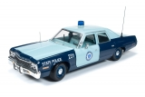 Dodge Monaco Pursuit Massachusetts State Police 1974 1:18 Auto World