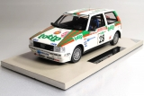 Fiat Uno Turbo  Rally Sanremo  1986 Fiorio - Pirollo 1:18 Top Marques