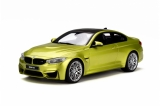 BMW M4 Coupé Competition Package yellow 1:18 GT Spirit