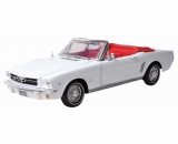 Ford Mustang Cabrio 1/2 1964 white 1:18 Motor Max