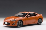 "Toyota GT 86 ""Limited"" 2012 orange 1:18 AUTOart"