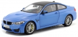 BMW M4 F82 Coupe 2014 blue 1:18 Paragon Models