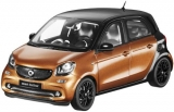Smart Forfour W453 Prime black/hazel brown 1:18 Norev