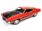 Ford Torino Cobra Vermillion 1970 1:18 Auto World