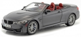 BMW M4 Cabrio F83 2015 grey 1:18 Paragon Models