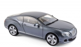Bentley Continental GT 2010 grey 1:18 Minichamps