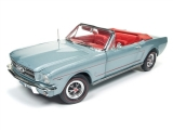 Ford Mustang Convertible 1965 silver 1:18 Auto World
