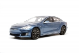 Tesla Model S 2016 grey 1:18 LS Collectibles