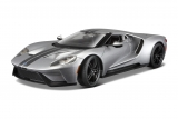 Ford GT 2017 silver 1:18 Maisto