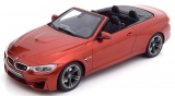 BMW M4 (F83) Cabrio 2015 orange 1:18 GT Spirit