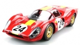 Ferrari 330 P4 #24 3rd LeMans 1967 1:18 GP Replicas