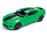 Chevrolet Camaro SS 2017 green 1:18 Auto World