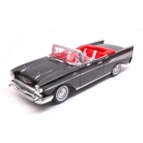 Chevrolet Bel Air Cabrio 1957 black 1:18 Motor Max