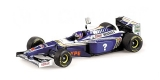 Williams Renault FW19 Jacques Villeneuve World Champion 1997 1:18 Minichamps