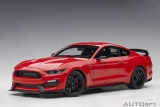Ford Mustang Shelby GT350R race red 1:18 AUTOart