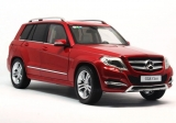 Mercedes Benz GLK 2013 red 1:18 Welly GTA