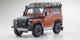 Land Rover Defender 90 orange 1:18 Kyosho