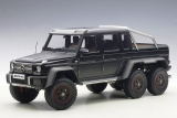 Mercedes Benz G63 AMG 6x6 matt black 1:18 AUTOart