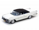 Oldsmobile 98 Closed Convertible 1959 white 1:18 Sun Star
