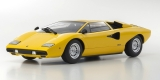 Lamborghini Countach LP 400 yellow 1:18 Kyosho