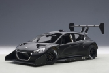 Peugeot 208 T16 Plain Body Version Pikes Peak Race Car 2014 1:18 AUTOart