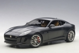 Jaguar F Type R Coupe 2015 matt black 1:18 AUTOart