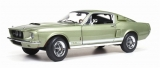 Shelby Ford Mustang GT500 1967 green 1:18 Auto World