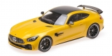 Mercedes-AMG GT R 2017 yellow 1:18 Minichamps