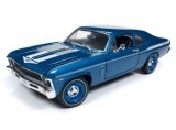 Chevrolet Nova Yenko Coupe Lemans 1969 blue 1:18 Auto World