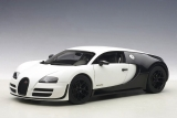 Bugatti Veyron 16.4 Supersport Pur Blanc 2012 matt white/carbon 1:18 AUTOart