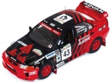 Mitsubishi Lancer Evo V #43 Nutuhara/Odagiri Rally New Zealand 1999  1:43 Ixo Models