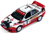 Mitsubishi Carisma GT #2 winner Rally GB Burns/Reid 1998 1:43 Ixo Models