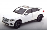 Mercedes-Benz GLC Coupe 2018 white 1:18 iScale