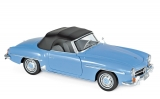 Mercedes-Benz 190 SL 1955 blue 1:18 Norev