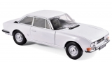 Peugeot 504 Coupé 1969 Arosa White 1:18 Norev