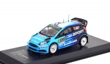 Ford Fiesta RS WRC #6 Carilli/Klinger Rally Monte Carlo 2016 1:43 Ixo Models