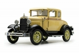 Ford Model A Coupe 1931 yellow 1:18 Sun Star