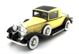 Packard 902 Standard Eight Coupe 1932 yellow/black 1:18 BoS Models