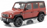 Mercedes-Benz G63 AMG 2017 tomato red 1:18 iScale