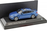 BMW 4 Series Gran Coupe (F36) 2014 blue 1:43 Kyosho
